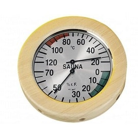 Hygro Thermometer rond groot